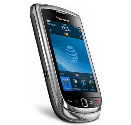 Nouveau Mobile Blackberry Torch 9800