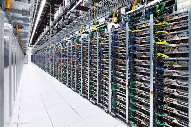 Datas Centers Google : Les images impressionantes