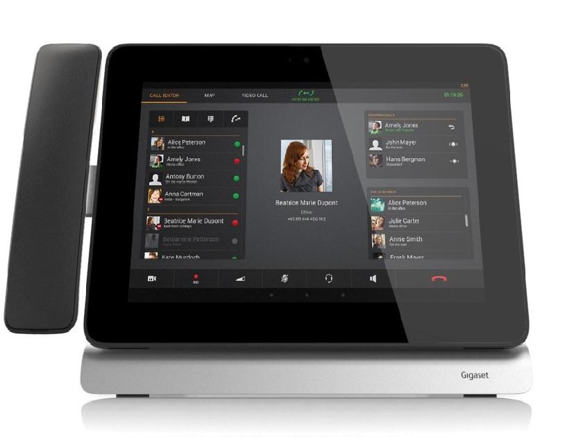 Gigaset Maxwell : le téléphone fixe IP et tactile sous Android