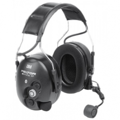 Casque Peltor XP Flex, double connexion entrante (Bluetooth + radio filaire)