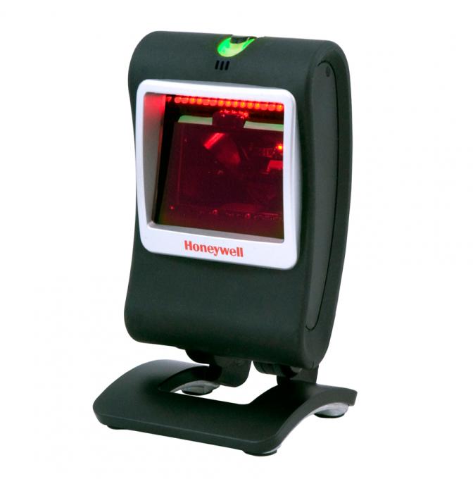 Lecteur de comptoir GEnesis 7580g de Honeywell, une marque très fiable en scanners et productivité mobile