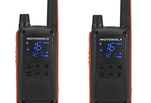 Nouveaux Talkies Walkie Motorola T82