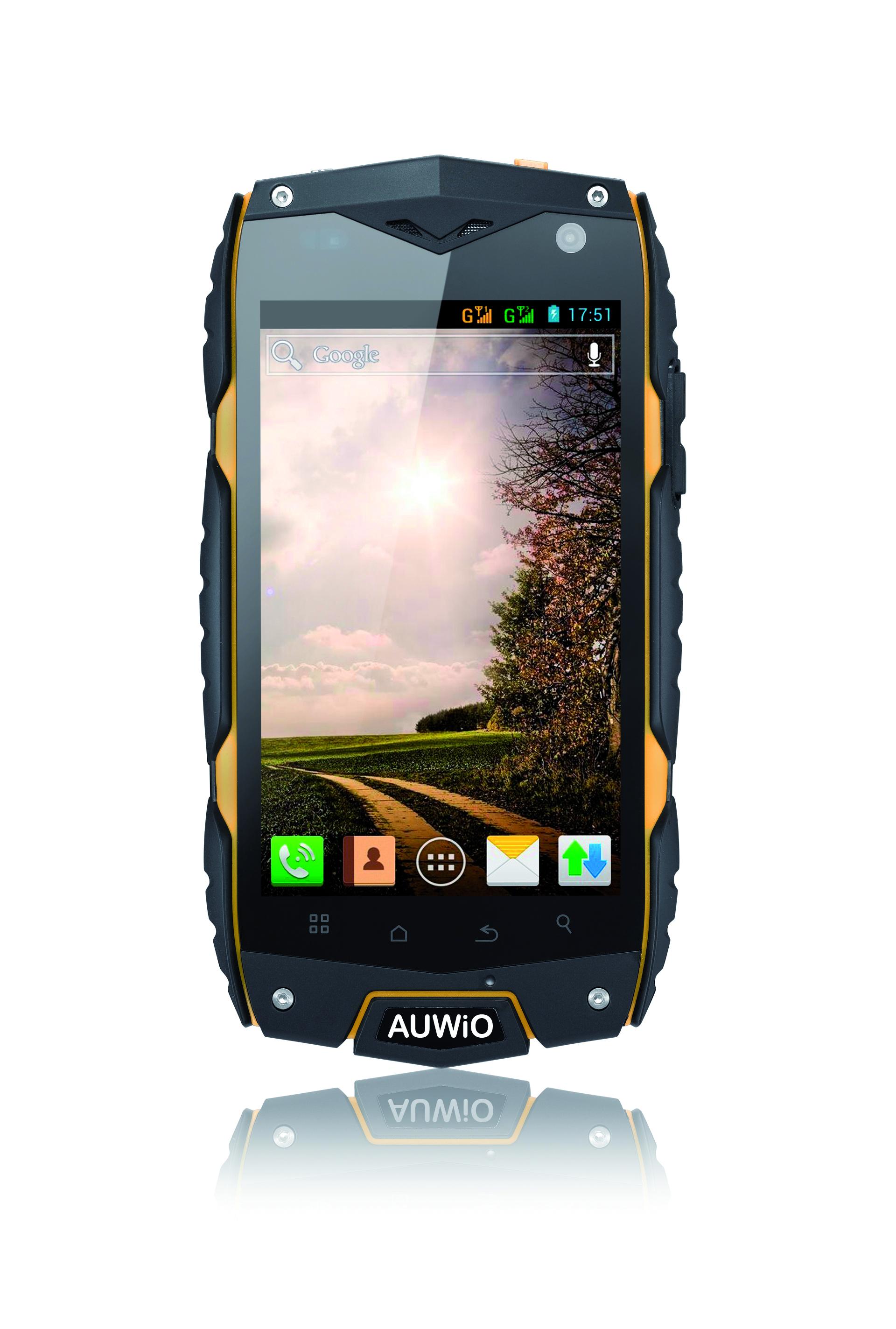 Nouveau smartphone durci Auwio AMX-200