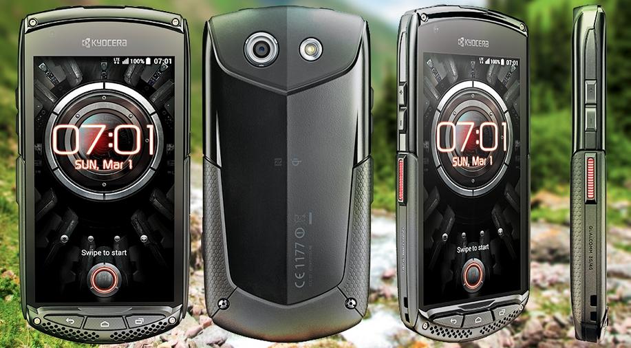 Kyocera, Energizer, des smartphones durcis étanches et anti chocs