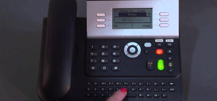 Comment faire un renvoi d'appel sur un poste Alcatel série 9