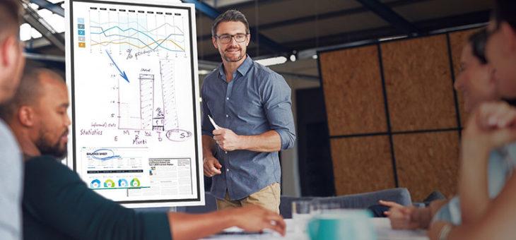 Tableau Interactif d'entreprise : Equipez votre salle de réunion